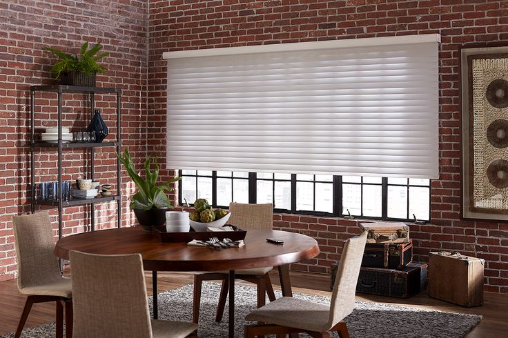Just found the perfect window treatments!! - Blinds.com. –  Radiance Room Darkening Sheer Shade #homedecor #blinds #sheer-shades--horizontal-sheer-shades