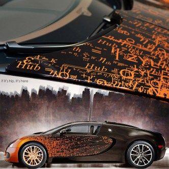 The Bugatti Veyron Grand Sport By Artist Bernar Venet.
