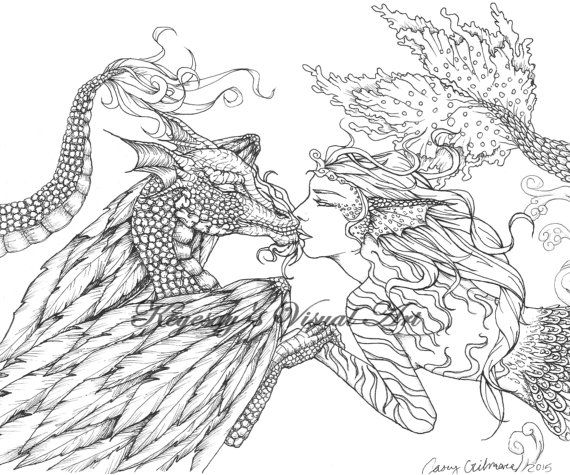 ocean dragon coloring pages - photo#12