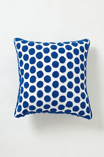 LOVE!!! Netted Dot Pillow  #anthropologie