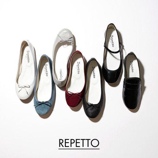 「レペット」(repetto)のバレエシューズ