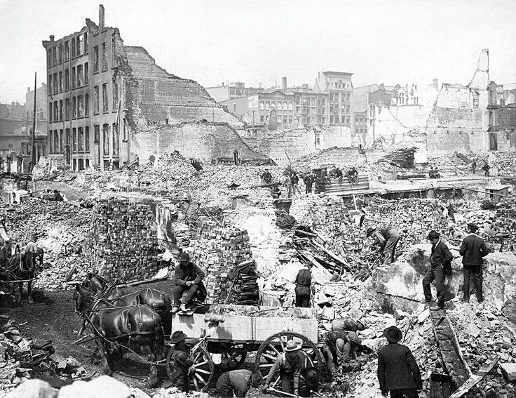 Front Street after the Great Fire of Toronto (1904) - Wikipedia, the free encyclopedia