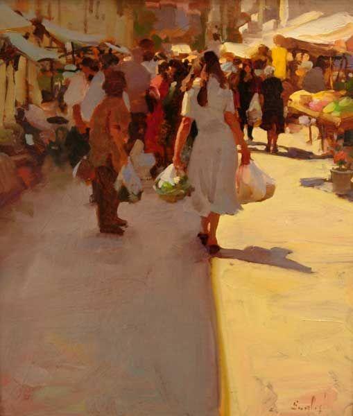 Kim English Athens-Market-12x14.