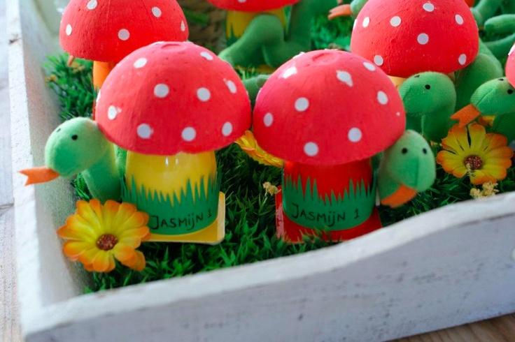 Traktatie Danoontje paddenstoel