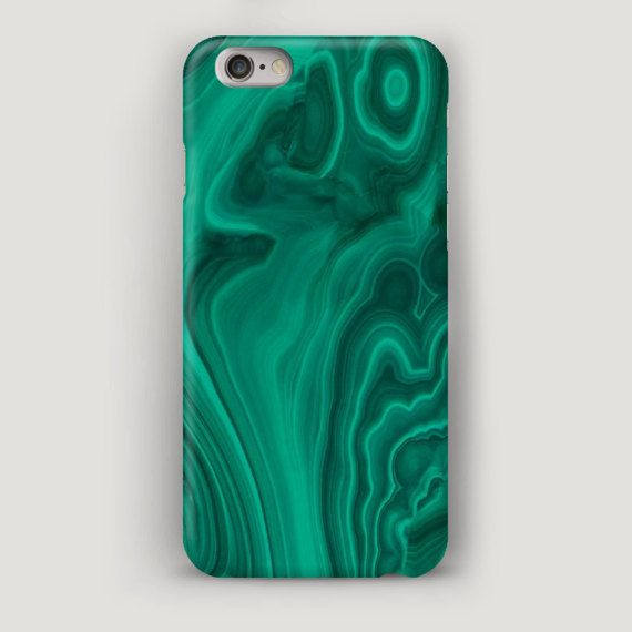 Malachite iPhone Case, Marble iPhone 6 Case, Green Marble Phone Case, iPhone 5s Case Marble, iPhone 5C Marble Case, Texture Case iPhone 7