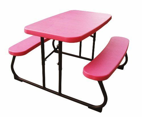 Lifetime Pink Kidu0027s Picnic Table By Lifetime Products, Http://www.amazon