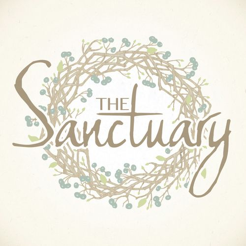 The Sanctuary | Logo Design by Corinne Jade