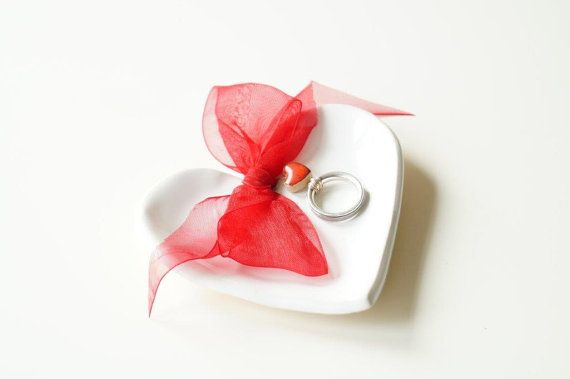 Wedding Ring Dish Wedding Ring Holder Engagement by HerMoments