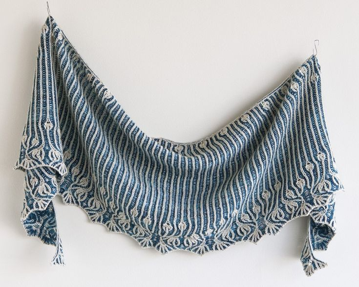 Lesley Anne Robinson Rebel Two Shawl Kit