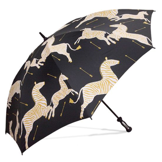 """I need a new umbrella, and this one is fun... but I may """"break bad"""" and get one with some zingy color.  I have so much black already... but I DO love it!"""