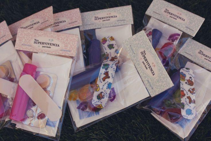 Kits de supervivencia para los invitados de tu boda   Castillo Monteviejo