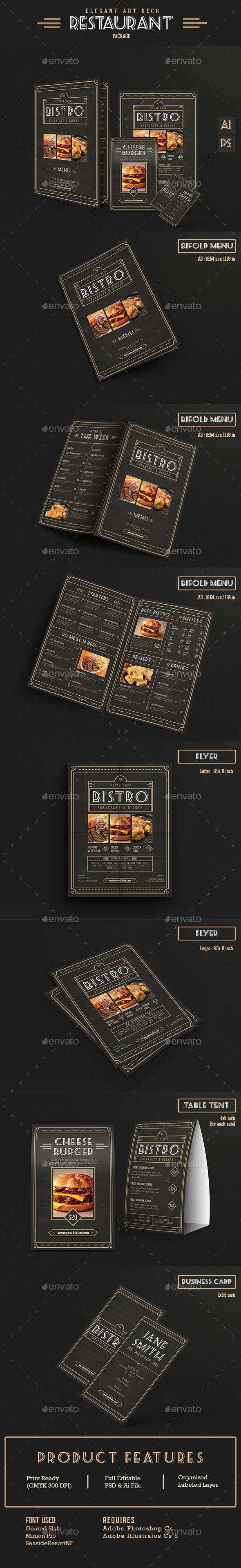 61 best restaurant menu design templates images on pinterest