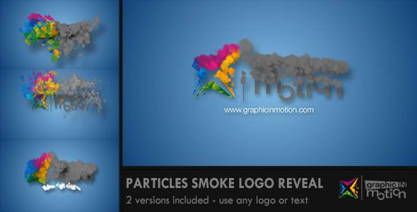 Particles Smoke Logo Reveal