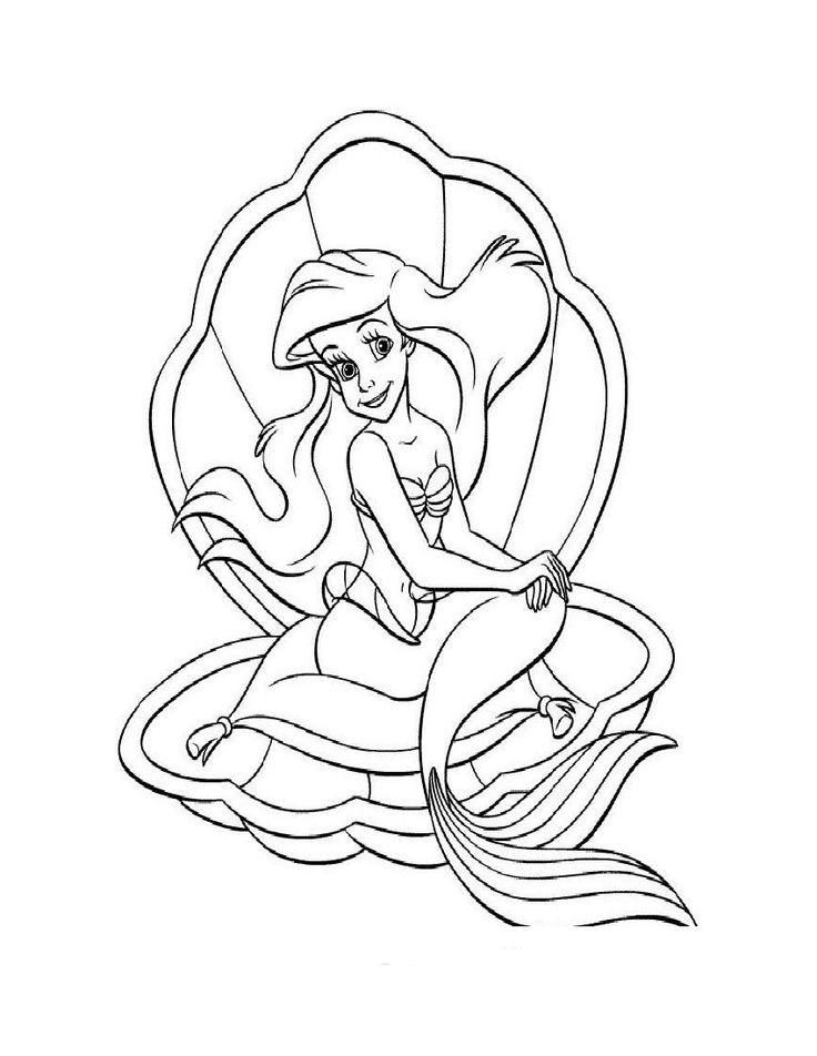 Arielle Die Meerjungfrau Malvorlagen Di 2020