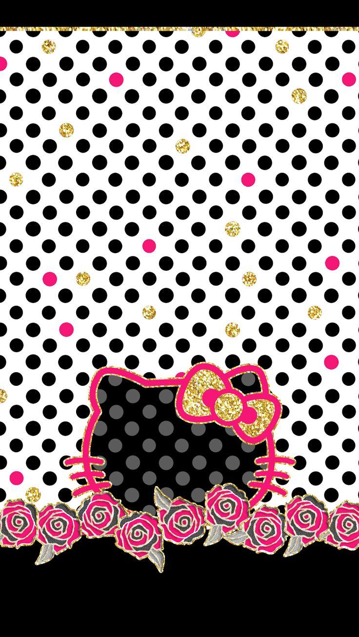 Wallpaper iphone kate spade - Kate Spade Hello Kitty Phone Wallpaper Risspected