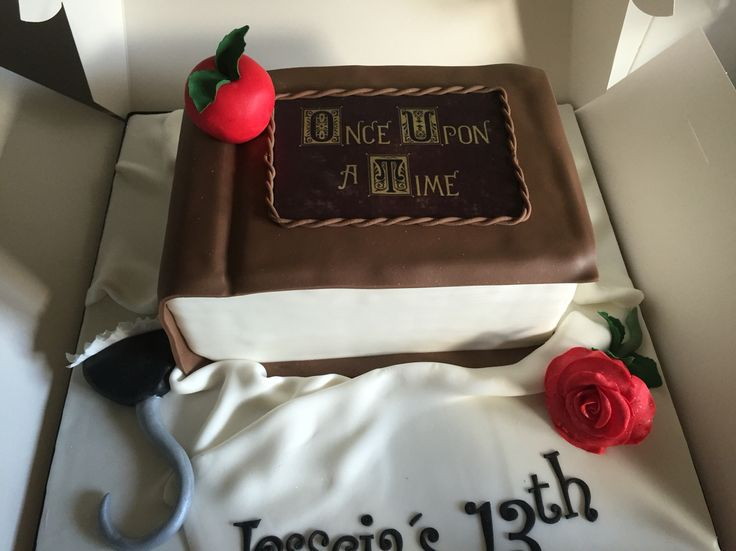 Once upon a time cake