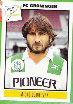 """Milko """"De Magiër"""" Djurovski bij FC Groningen"""
