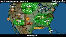 York, PA weather and forecast information on WeatherBug.com