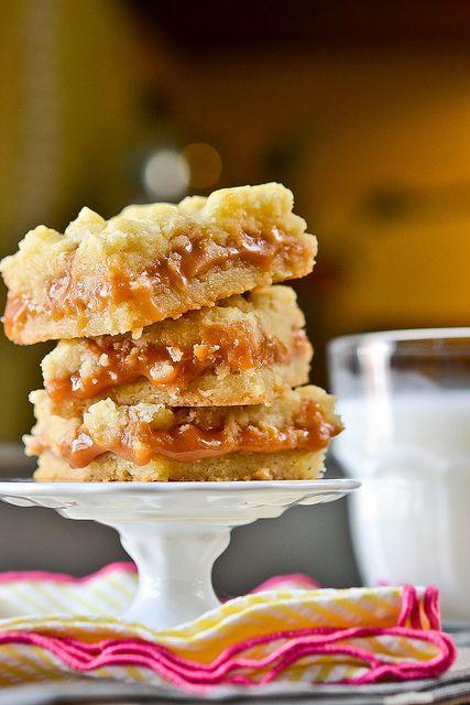 Salted Caramel Butter Bars | Nom Nom Nom | Pinterest