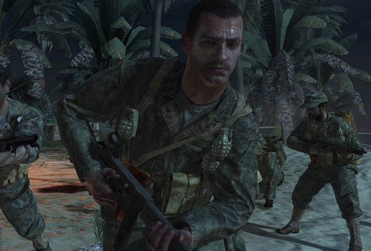 Pvt C Miller Alive Playable characters in Call of Duty