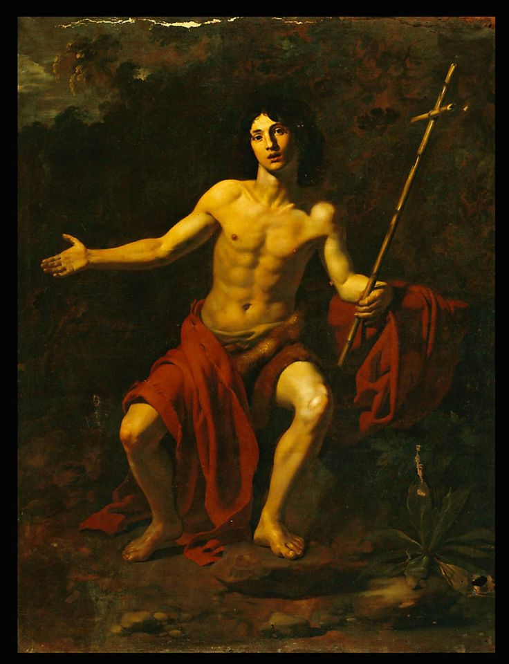 Saint John the Baptist by Nicholas Regnier