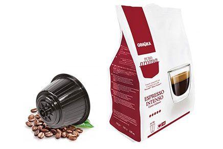 Cialdepercaffe, cialde compatibili Dolce Gusto Puro Aroma Gimoka