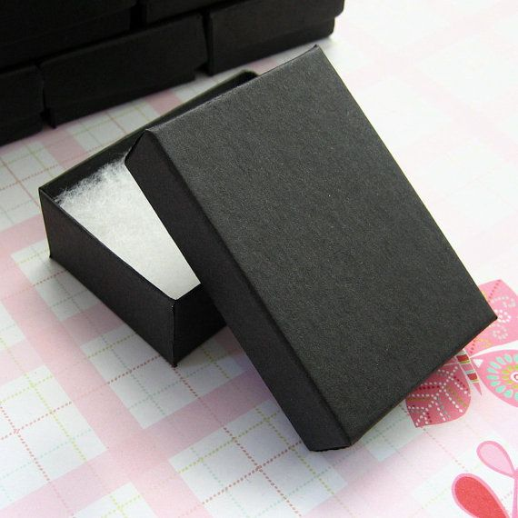 black cotton filled jewelry boxes 2