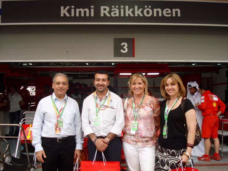 After Tour of Ferrari Garages and Goody Bags Too!!!