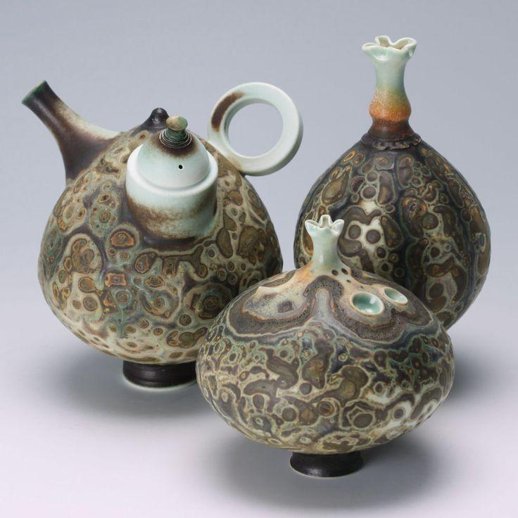 231 best images about art - ceramic teapots on Pinterest