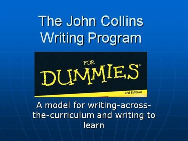Collins Writing Program by larry_boada via authorSTREAM