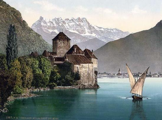 Chateau de Chillon - MEILLERIE en Haute-Savoie