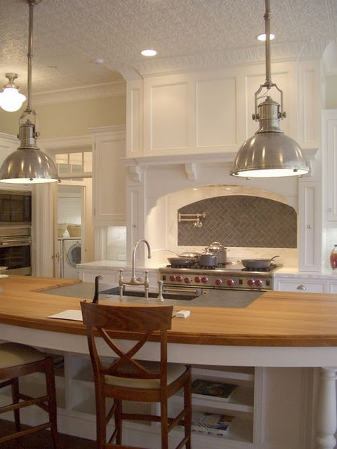 The pendent lighting!!! Shoot, the entire kitchen space!!!