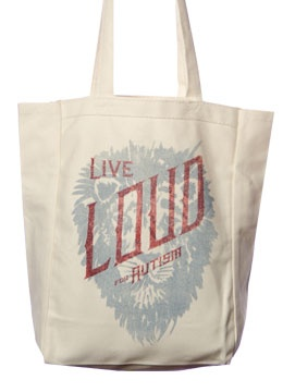 Sevenly special edition Live Loud for Autism tote bag - $21 from
