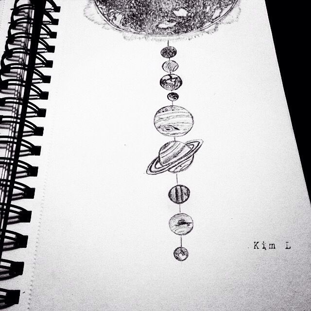 Solar System Drawing