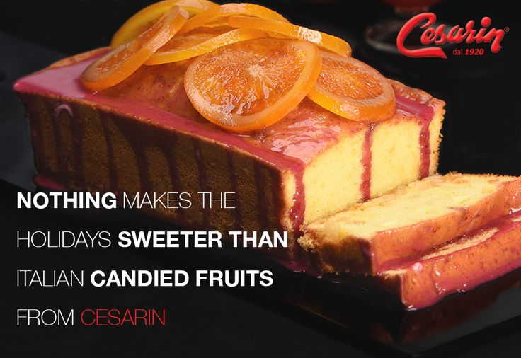 Candied fruit is a true holiday delicacy. You can pay homage to the fruitcake, or break from tradition with biscottis, breads, muffins, cakes, chocolates and more. How will candied fruits make it to your holiday dessert menu?