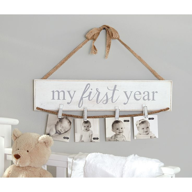 Mud Pie™ My First Year Photo Holder Picture Frame