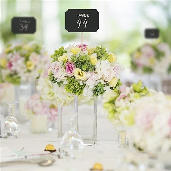 Pack 4 pinchos pizarra para decorar mesas de boda http - Pizarras para decorar ...