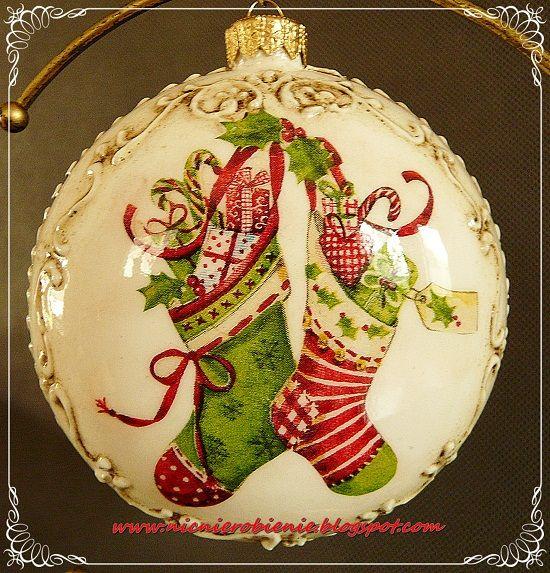 Rose Christmas Ornament