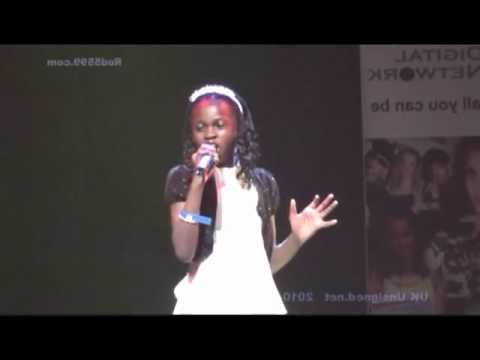 Oh my goodness!!! Amazing 10 yr old singing the Blues! What a VOICE!!! Dorothy Moore-misty blue   Cover by Folake