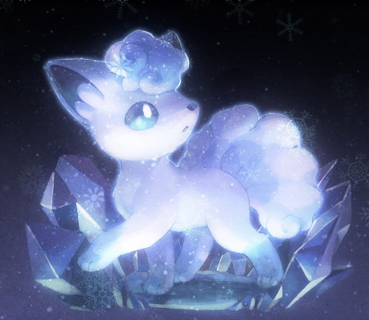 Pokemon Vulpix Aloha form