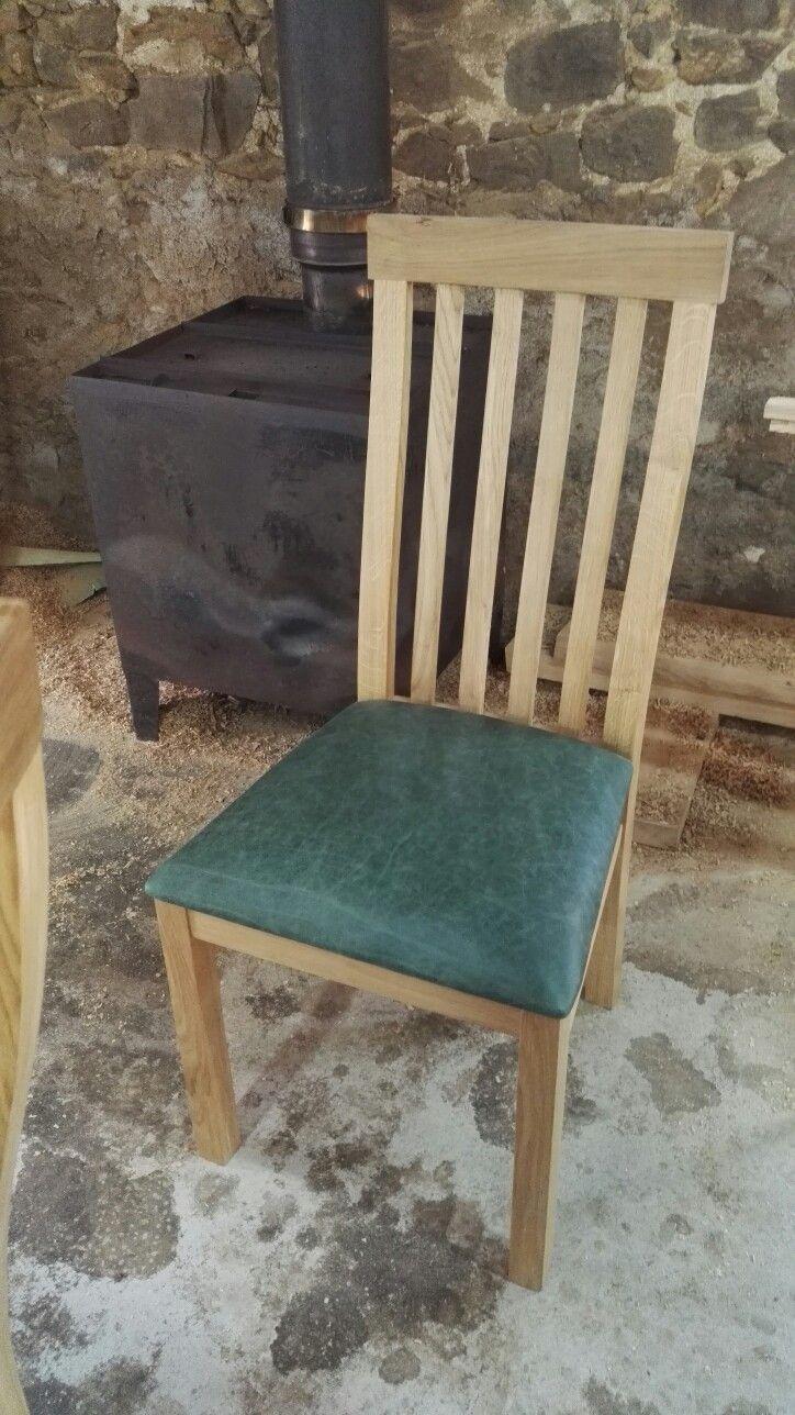 Cabinet maker bespoke pine furniture oak furniture bespoke - High Back Oak Dining Chair By Makers Bespoke Furniture Chairmakers Handmadechair Oak