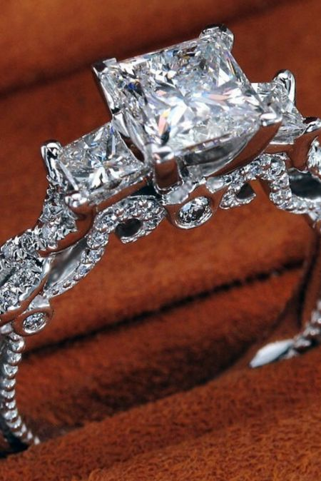 """18 Amazing Ornate Engagement Rings That Will Make You Say """"I Want That!"""" - Reverie"""