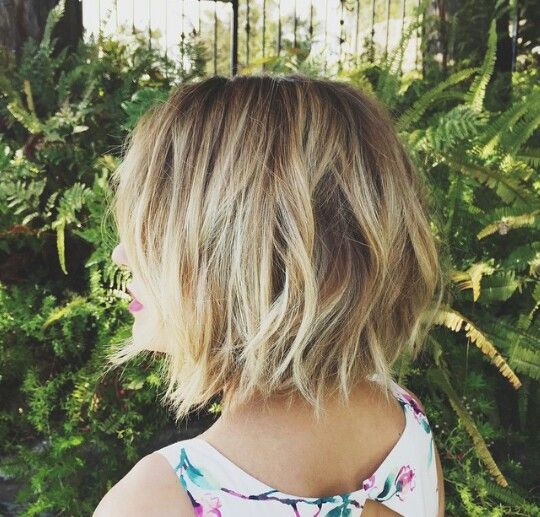 Lauren Conrad's short hair