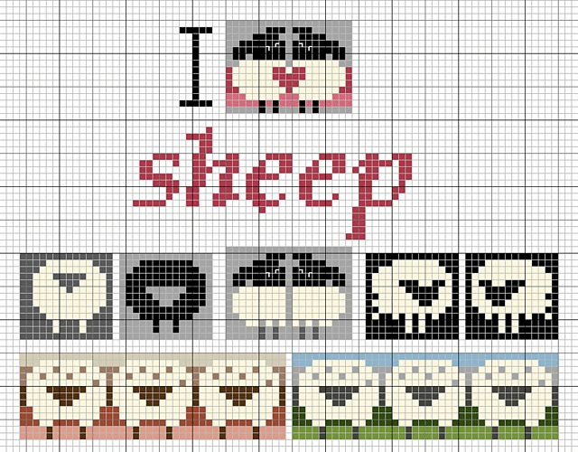 Ravelry: Love sheep pattern by Eve Laine