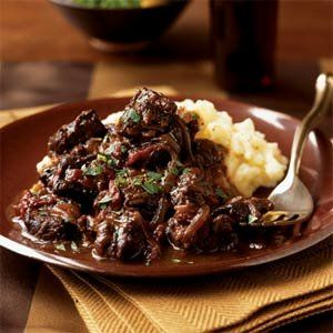 Beer Braised Beef With Onions | Food, recipes, etc. | Pinterest