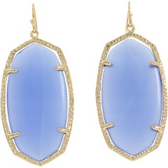 periwinkle! and chalcedony! great spring/summer earrings.