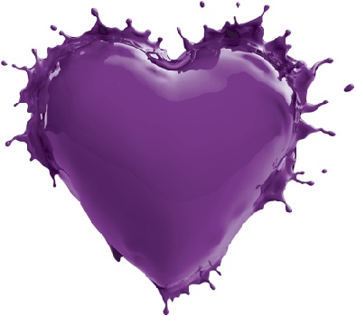 Purple for Cystic Fibrosis Awareness.  To help find a cure:  TAX DEDUCTIBLE DONATION to CYSTIC FIBROSIS RESEARCH INC. , 2672 BAYSHORE PARKWAY, SUITE 520 , MOUNTAIN VIEW, CA. 94043