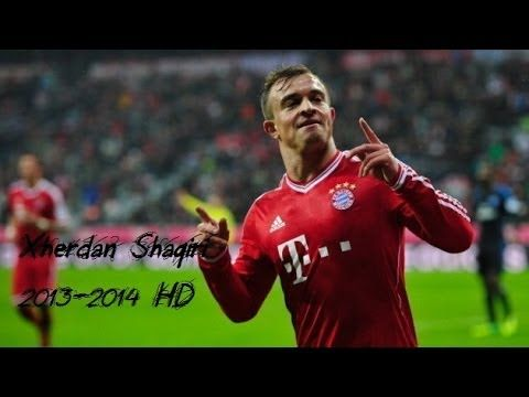 Xherdan Shaqiri ● The Shark ● Skills & Goals 2014 HD