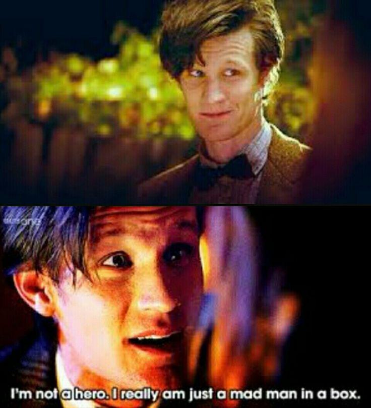 -Matt Smith, décimo segundo doutor.