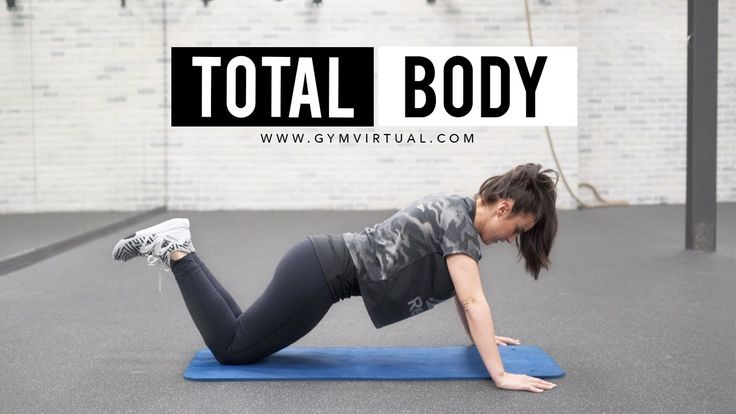 Entrenamiento total Body | Tonificar todo el cuerpo